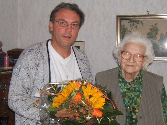 Dank an Frau Oehler (c) WL